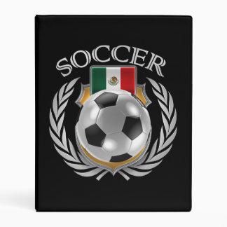 Engranaje de la fan del fútbol 2016 de México Mini Carpeta