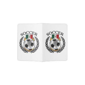 Engranaje de la fan del fútbol 2016 de México Porta Pasaporte