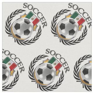 Engranaje de la fan del fútbol 2016 de México Telas