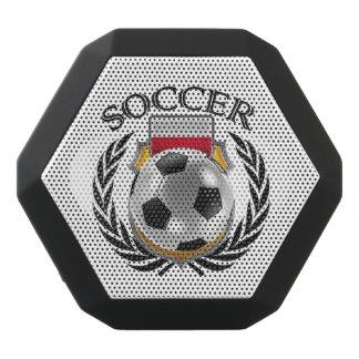 Engranaje de la fan del fútbol 2016 de Polonia Altavoces Bluetooth Negros Boombot REX