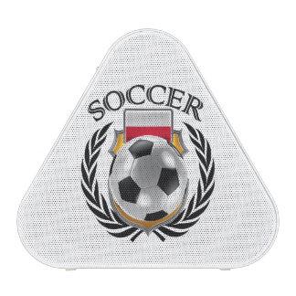 Engranaje de la fan del fútbol 2016 de Polonia Altavoz Bluetooth