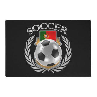 Engranaje de la fan del fútbol 2016 de Portugal Tapete Individual