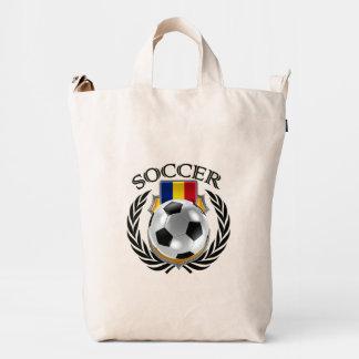 Engranaje de la fan del fútbol 2016 de Rumania Bolsa De Lona Duck