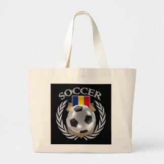 Engranaje de la fan del fútbol 2016 de Rumania Bolsa Tela Grande