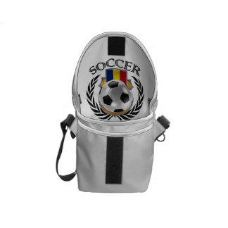 Engranaje de la fan del fútbol 2016 de Rumania Bolsas Messenger