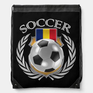 Engranaje de la fan del fútbol 2016 de Rumania Mochilas