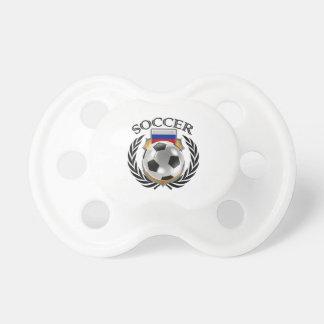 Engranaje de la fan del fútbol 2016 de Rusia Chupetes