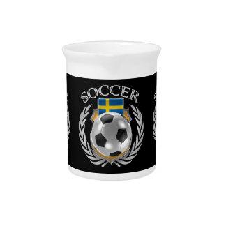 Engranaje de la fan del fútbol 2016 de Suecia Jarras De Beber