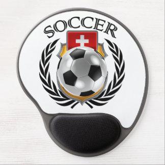 Engranaje de la fan del fútbol 2016 de Suiza Alfombrillas Con Gel