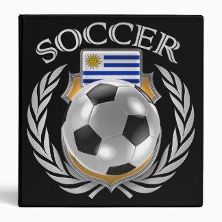 """Engranaje de la fan del fútbol 2016 de Uruguay Carpeta 1 1/2"""""""
