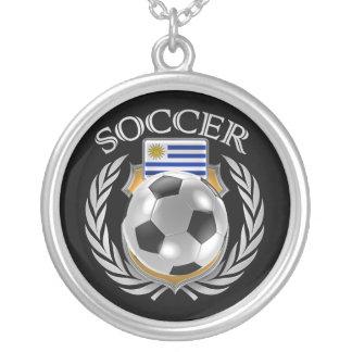 Engranaje de la fan del fútbol 2016 de Uruguay Colgante Redondo