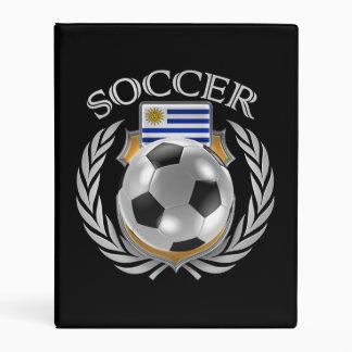 Engranaje de la fan del fútbol 2016 de Uruguay Mini Carpeta