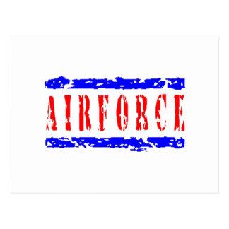 Engranaje de la fuerza aérea postales