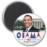 Engranaje de la inauguración 2009 de Obama Imán Para Frigorífico