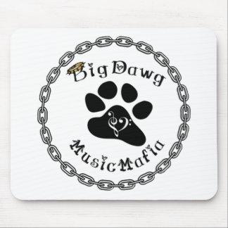 Engranaje de la mafia de la música de BigDawg Alfombrilla De Ratones
