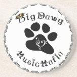 Engranaje de la mafia de la música de BigDawg Posavasos Diseño