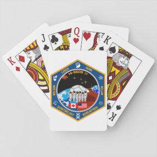 Engranaje de la misión III de HI-SEAS Cartas De Póquer