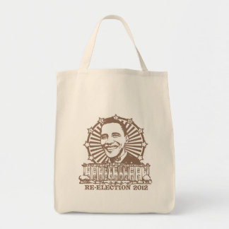 Engranaje de la reelección 2012 del Homeboy de Oba Bolsa De Mano