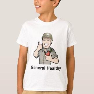 Engranaje de la salud general playera