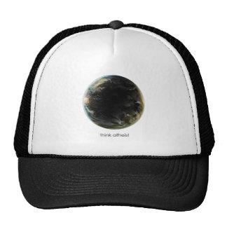 Engranaje de la tierra del planeta gorras