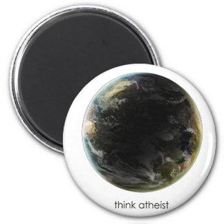 Engranaje de la tierra del planeta imán redondo 5 cm