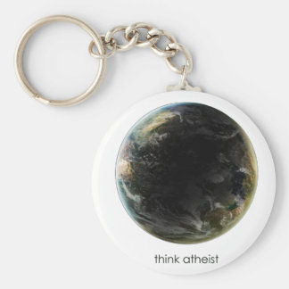 Engranaje de la tierra del planeta llavero redondo tipo pin