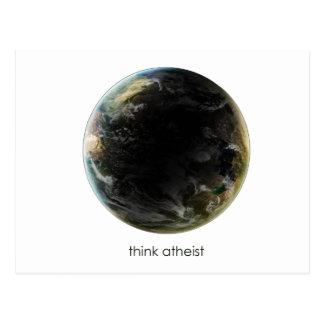 Engranaje de la tierra del planeta postal