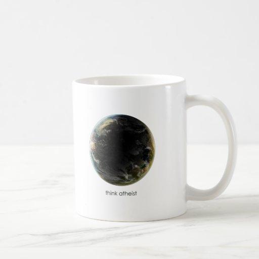 Engranaje de la tierra del planeta tazas