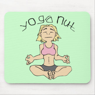 Engranaje de la yogui de la nuez de la yoga mousepads
