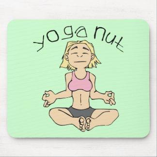Engranaje de la yogui de la nuez de la yoga alfombrilla de raton