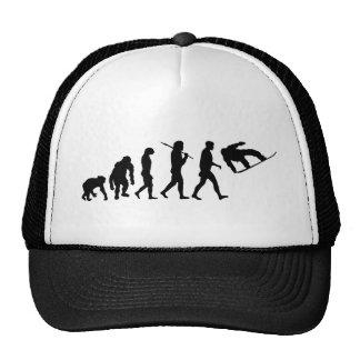 Engranaje de los huéspedes del deporte de invierno gorras de camionero