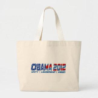 Engranaje de Obama Obamateer 2012 Bolsa Tela Grande