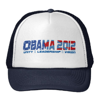 Engranaje de Obama Obamateer 2012 Gorra