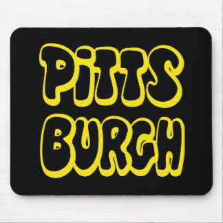 Engranaje de Pittsburgh Alfombrilla De Ratones
