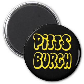 Engranaje de Pittsburgh Imán Para Frigorifico