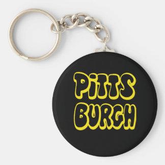 Engranaje de Pittsburgh Llavero Personalizado