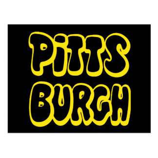 Engranaje de Pittsburgh Tarjeta Postal