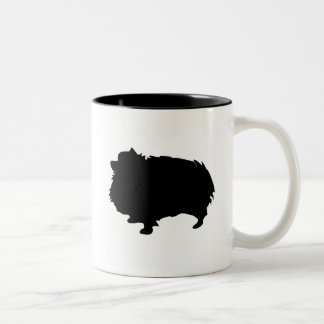 Engranaje de Pomeranian Taza De Dos Tonos