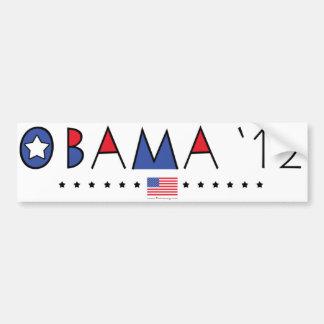 Engranaje de presidente Barack Obama 2012 Pegatina Para Auto