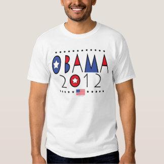 Engranaje de presidente Barack Obama 2012 Camisas