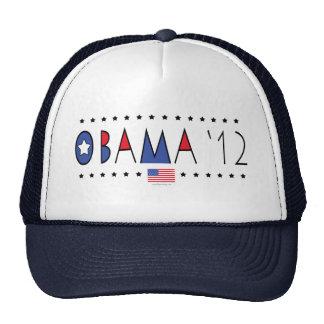 Engranaje de presidente Barack Obama 2012 Gorro De Camionero