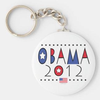 Engranaje de presidente Barack Obama 2012 Llaveros