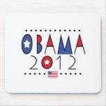 Engranaje de presidente Barack Obama 2012 Tapete De Ratón