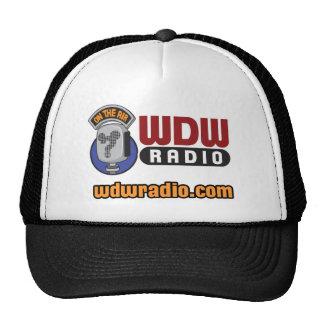 Engranaje de radio del logotipo de WDW Gorras