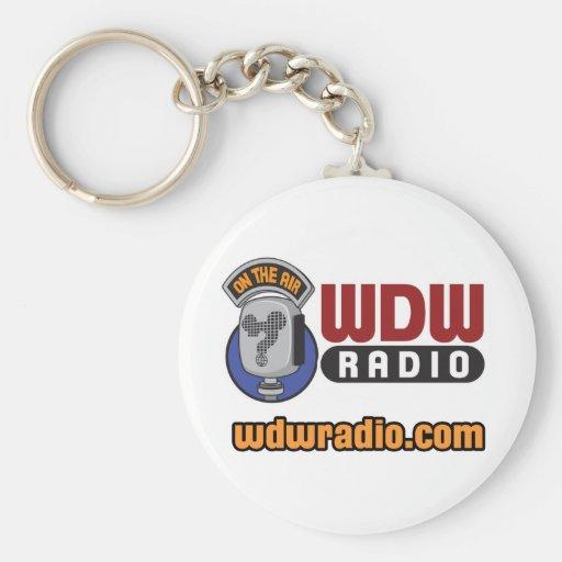 Engranaje de radio del logotipo de WDW Llaveros