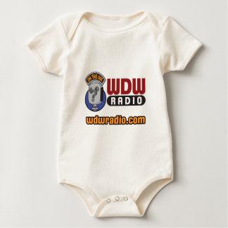 Engranaje de radio del logotipo de WDW Traje De Bebé