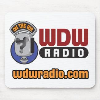 Engranaje de radio del logotipo de WDW Alfombrilla De Ratón