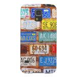 Engranaje de Roadtrip - placas de los E.E.U.U. Fundas De Galaxy S5
