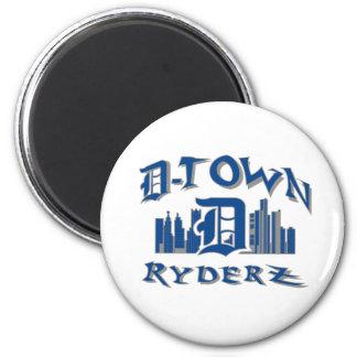 engranaje de RyderZ de la D-ciudad Imán Para Frigorífico