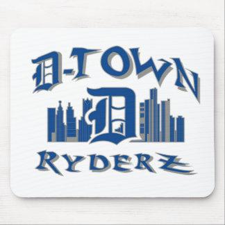 engranaje de RyderZ de la D-ciudad Mouse Pad
